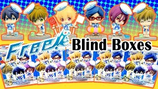 Anime Free! Petit Chara Puchitto Marine Style Surprise Random Blind Boxes with Gumi and Jeromi