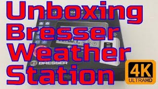 Unboxing Bresser RC Hygrometer weather station [iPhone6S+]