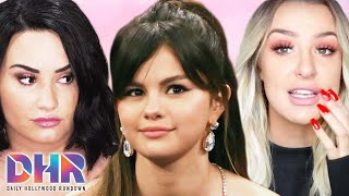 Demi Lovato SLAMMED By Selena Gomez Fans For Justin Posts! Tana Mongeau Shades Jake Paul?! (DHR)