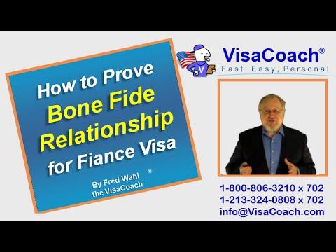 How to Prove Bone Fide Relationship for Fiance Visa FAQ#19