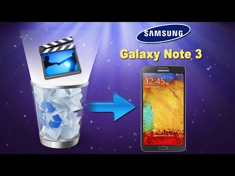 [Galaxy Note 3 Data Recovery]: How to Recover Deleted Videos or other Data from Galaxy Note 3