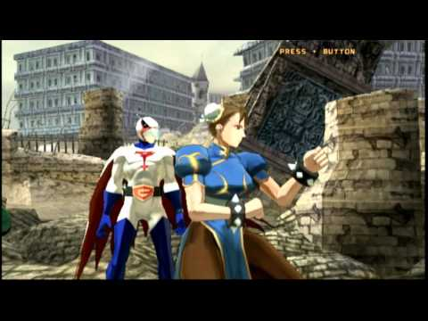 Classic Game Room - TATSUNOKO VS. CAPCOM for Wii review