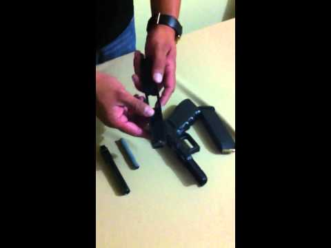Desarme parcial pistola Glock 9mm