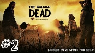 The Walking Dead - Episode 2 - Gameplay Walkthrough - Part 2 - A TOUGH CHOICE (Xbox 360/PS3/PC)