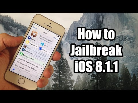 How to Jailbreak iOS 8.1.1 using TaiG