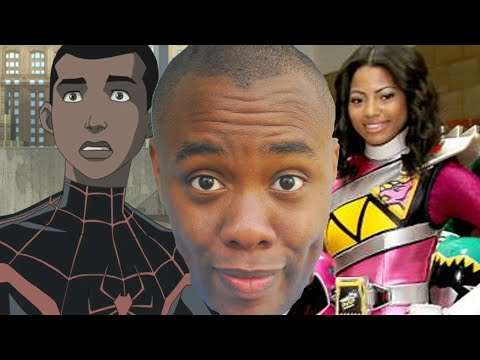 BLACK PINK POWER RANGER and BLACK SPIDER-MAN : Black Nerd
