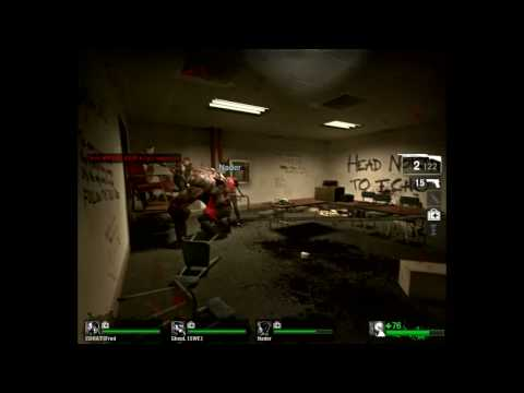 Left 4 Dead - Killing tank in Saferoom
