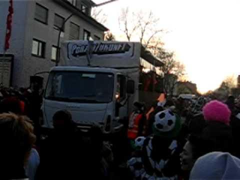 Karneval in Wahn 2008 (Teil 1) - Rewe