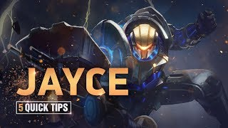 5 Quick Tips To Climb Ranked: Jayce