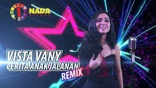 CERITA ANAK JALANAN Versi REMIX - Vista One Nada (Official Music Video)