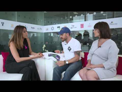 Tom Hardy and Charlotte Riley BGC Partner Charity Day