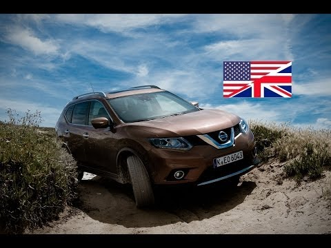 2014 Nissan X-trail 1.6 dCI - Testdrive / Review / Hands-on test (English)