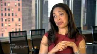 Suits Season 2 Gina Torres Interview