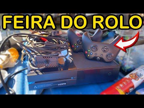 XBOX ONE BARATO R$450,00 COMPLETO e 2 CONTROLES... | FEIRA DO ROLO