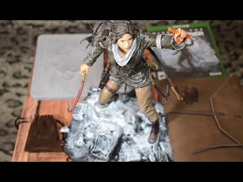 Обзор и распаковка редкого коллекционного издания Rise of the Tomb Raider на Xbox One
