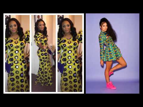 African Fashion Wear And Cloths Set | Long African Trendy Dresses Picture Ideas For Women Romance