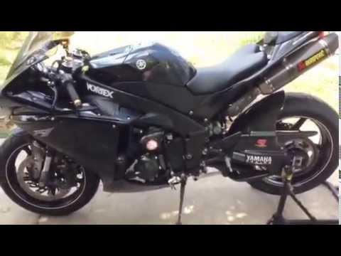 กอล์ฟสงขลา ทดสอบ Yamaha YZF R1 2010 ทะเบียนแท้ แต่งเต็ม
