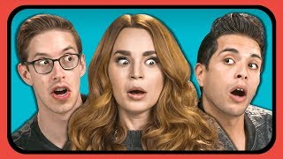 Movie Youtubers React To Ariana Grande Thank U Next Music Video Easter Eggs from