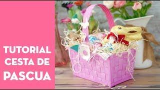 download musica Cesta de Cartulina para Pascua TUTORIAL⎪PEGA PAPEL O TIJERAS