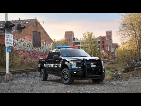 See Ford's first-ever F-150 police truck