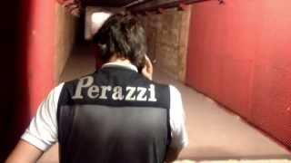 PERAZZI SHOOTER ORONZO ROCHIRA TESTING HIS NEW GUN