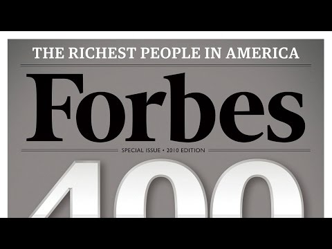The Number of Billionaires Is Up From Last Year: Forbes World's Billionaires List