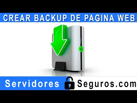 CREAR COPIA DE SEGURIDAD O BACKUP DE TU PAGINA WEB FACIL