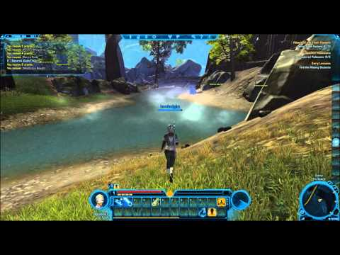 (1-10) Jedi Knight Gameplay Part 1 - Creation and getting used to the knight.