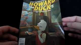 Howard the Duck #1 2015 Comic Book Video Review