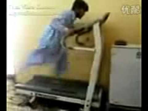 Funny Pathan In Gym