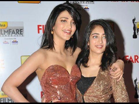 Shruti Haasan sings for younger sister Akshara in her debut film Shamitabh   Latest cinema news