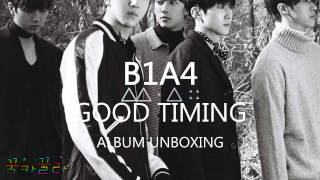 B1A4 GOOD TIMING ALBUM UNBOXING