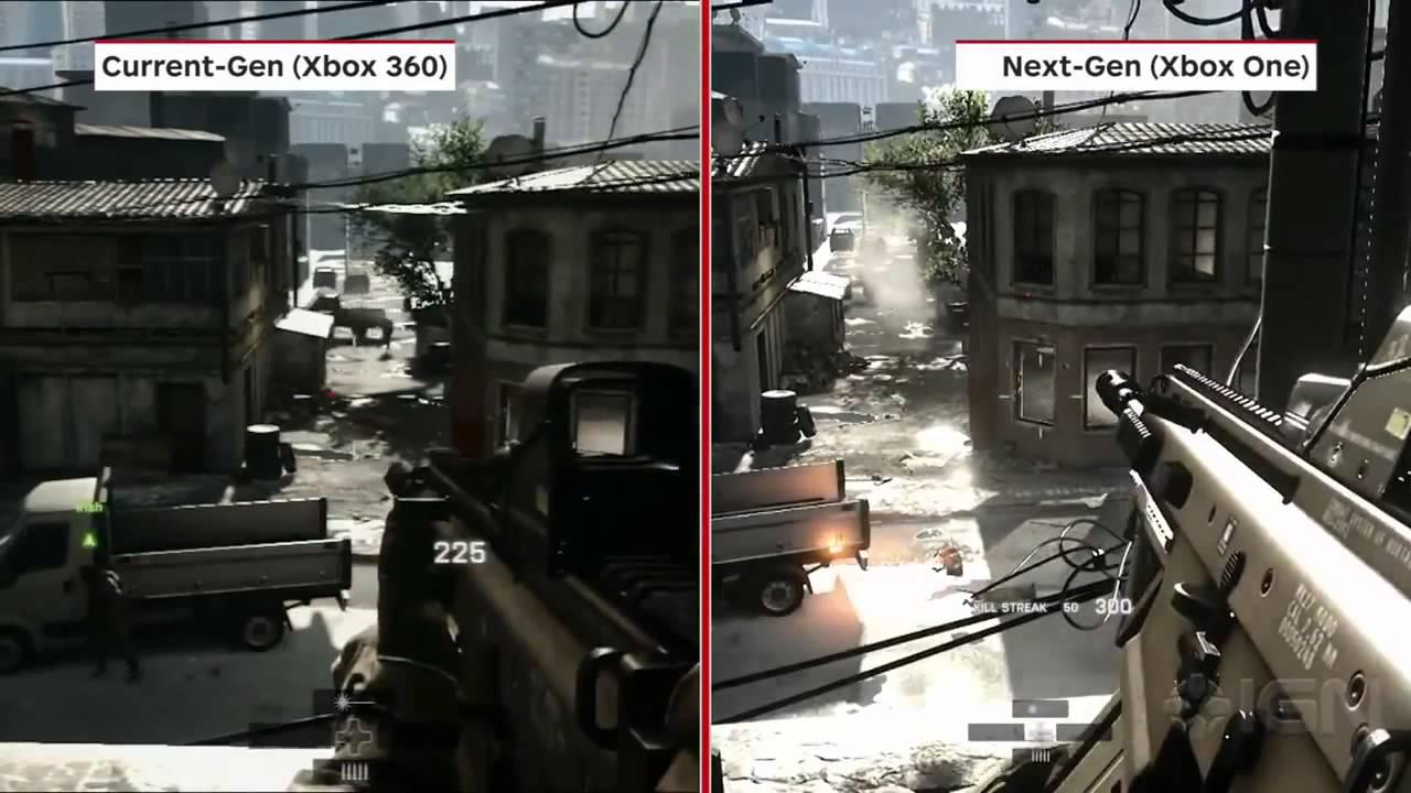 Xbox One Graphics Vs Xbox360 Graphics one vs ps3 vs xbox 360