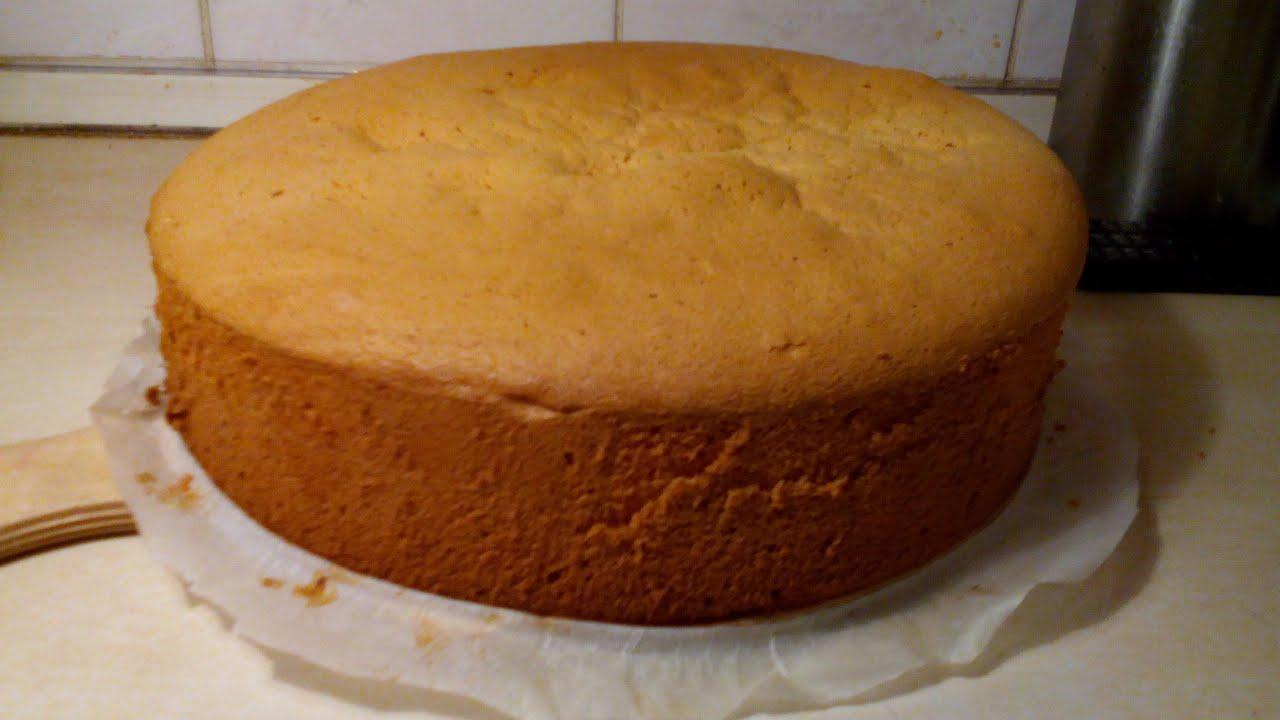 Пышный бисквит для торта: рецепт с