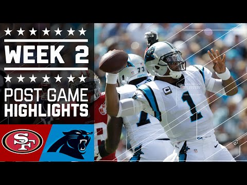 49ers Vs Panthers Nfl Week 2 Game Highlights