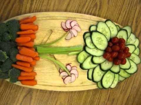 Dekoratif salata tarifleri ve salata tabakları