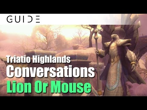[Guide] Aura Kingdom Conversations Achievements - #164 Lion Or Mouse in Triatio Highlands [HD]