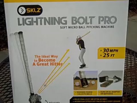 sklz lightning bolt pro pitching machine reviews