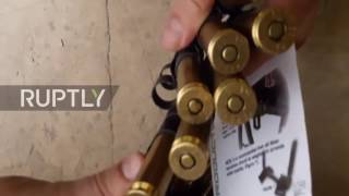 Syria: Huge stash of US-made weapons found in IS controlled territory