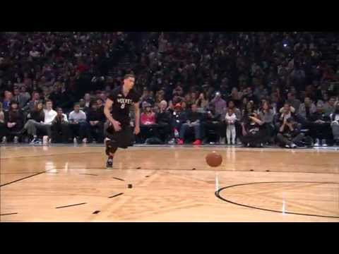 Zach Lavine's 2015 Sprint Slam Dunk Contest Performance video