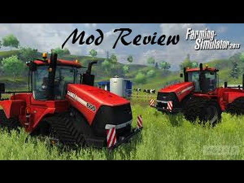 Farming Simulator 2013 Mod Review #6 - Fendt 380 GTA Turbo