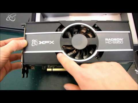 XFX Radeon HD 6950 1GB Graphics Card Unboxing & First Look Linus Tech Tips