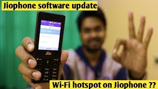 Jiophone new Update | Does Wi-Fi hotspot included on jio phone?