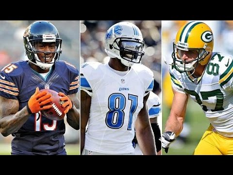 who is the best wide receiver in the nfl nfl first week picks