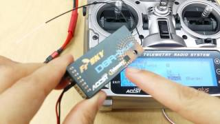 How to bind D-series receivers to FrSky Taranis X9D radio
