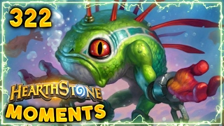 Not a Bad Play!! | Hearthstone Gadgetzan Daily Moments Ep. 322 (Funny and Lucky Moments)