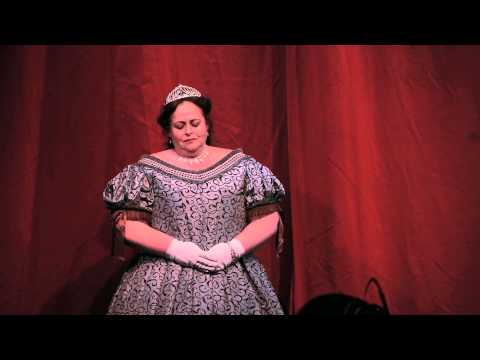 Soprano Kim Thelen sings Lascia Chio Pianga, Handel, at the Great Charles Dickens Christmas Fair