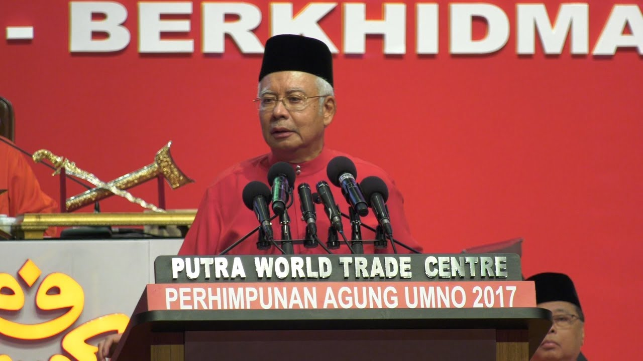 Umno AGM: Najib rallies Muslims to strongly oppose Jerusalem as Israel's capital