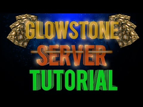 How To Setup a Glowstone Server (Minecraft 1.8.1)