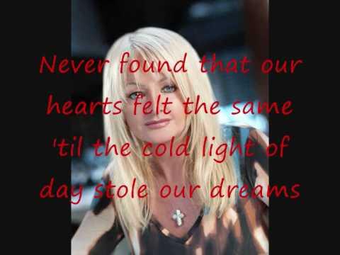 Bonnie Tyler - Say Goodbye